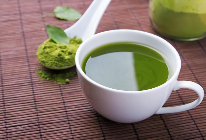 فوائد الشاي الاخضر قي علاج تساقط الشعر