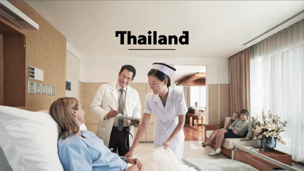 السياحة الأستشفائية في تايلاند