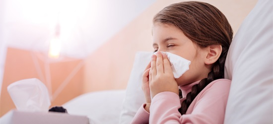 علاج الكحة عند الأطفال في المنزل