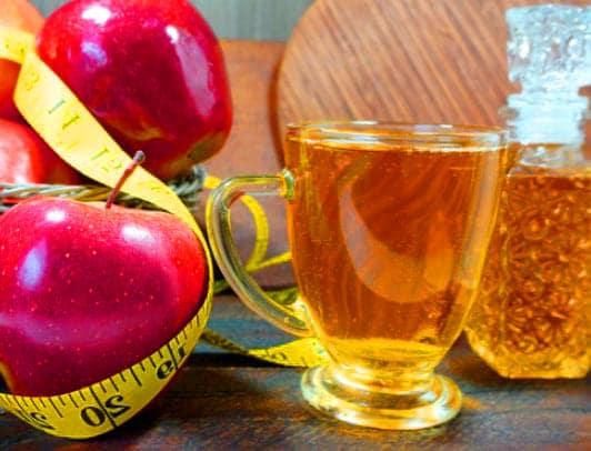 خل التفاح للتخسيس وطريقة استخدامة