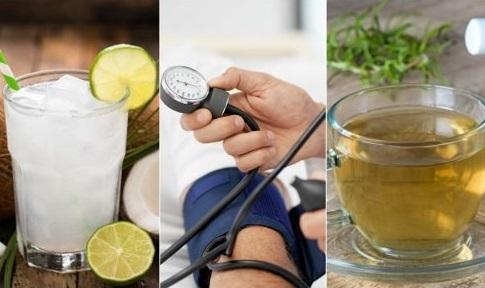 طريقة علاج الضغط المنخفض بالمشروبات