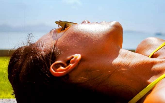 طريقة علاج حكة حروق الشمس في المنزل