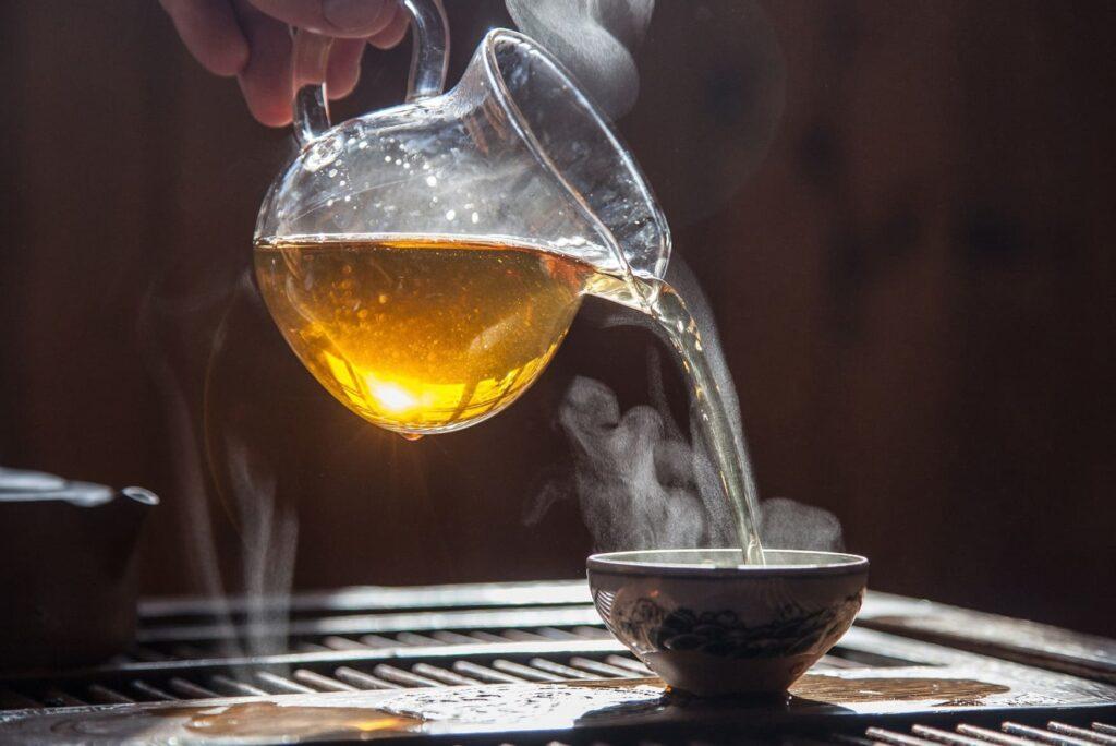 هل الشاي الأخضر يسبب ارتفاع ضغط الدم