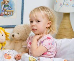 علاج التهاب الحلق عند الاطفال