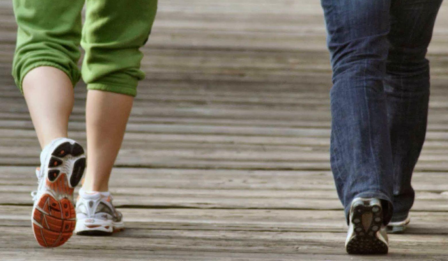 تجارب فوائد المشي في انقاص الوزن