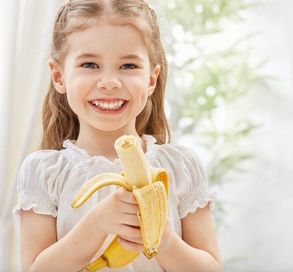 فوائد الموز علي الريق