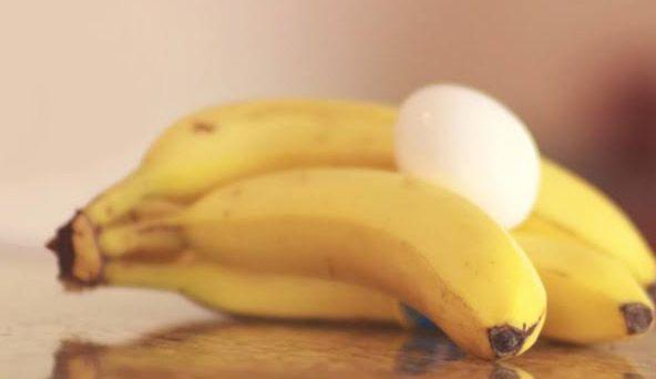 ماسك الموز للشعر