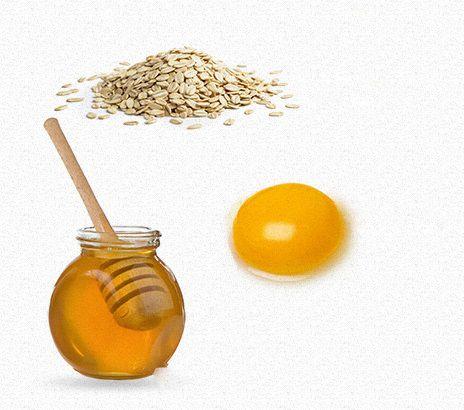 وصفة لتفتيح البشرة البيض والشوفان والعسل