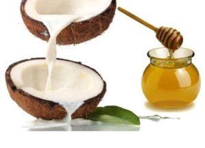 ماسك زيت جوز الهند والعسل للشعر