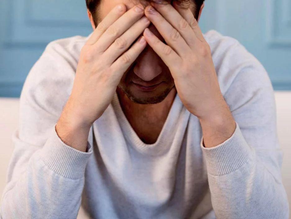 اعراض القلق والاكتئاب عند الرجال