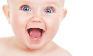 التسنين عند الاطفال الرضع
