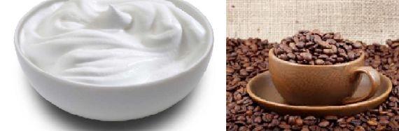 تحضير ماسك الزبادي والقهوة للشعر