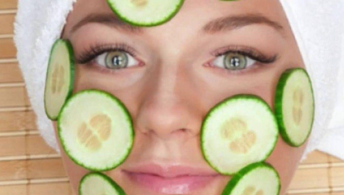 فوائد الخيار للبشرة والوجه