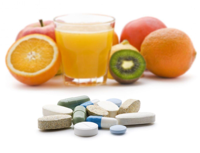 جميع مصادر الفيتامينات