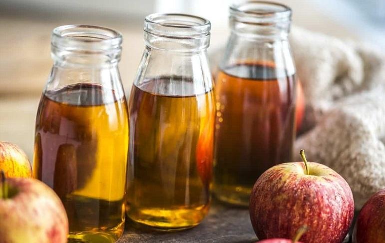 حمض الخليك في فوائد خل التفاح