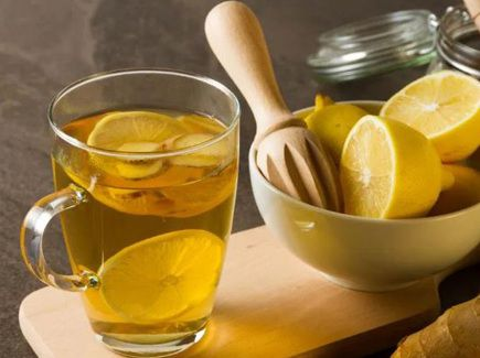 الليمون لعلاج التهاب الحلق