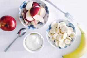 ما هي فوائد التفاح والموز