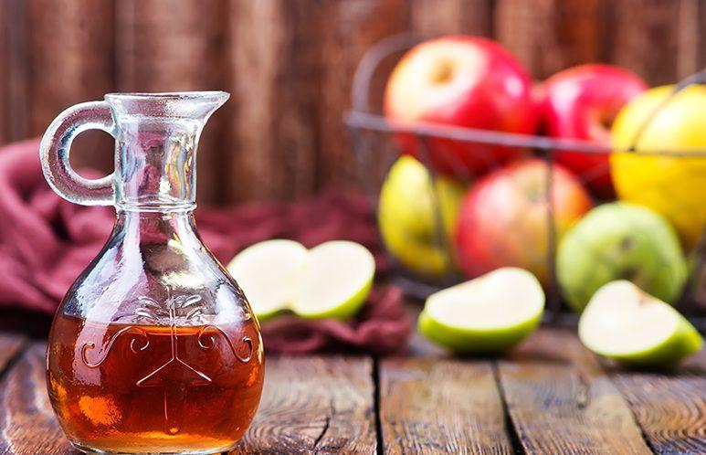 فوائد خل التفاح للعدوي الفطرية